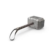 Thor's Hammer Mjölnir PNG & PSD Images