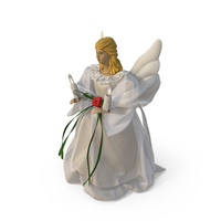 Angel Tree Topper PNG & PSD Images