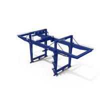 Rail Mounted Gantry Container Crane PNG & PSD Images