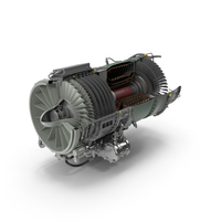 Turbojet Engine General Electric J85 PNG & PSD Images