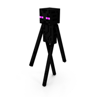 Minecraft EnderMan PNG & PSD Images