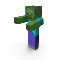 Minecraft Zombie PNG & PSD Images