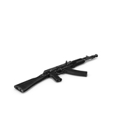 AK-104 Rifle PNG & PSD Images