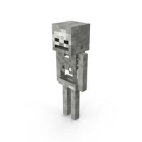 Minecraft Skeleton PNG & PSD Images