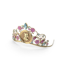 Belle Inspired Tiara PNG & PSD Images