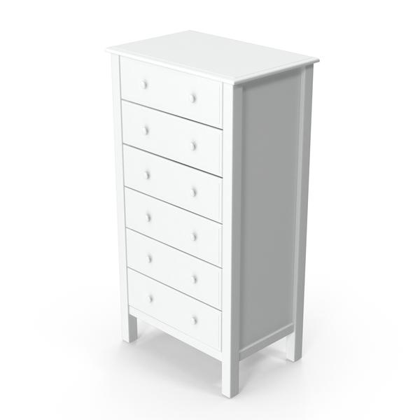 White Dresser PNG & PSD Images