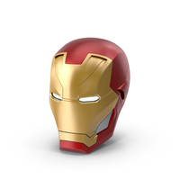 Iron Man Helmet PNG & PSD Images