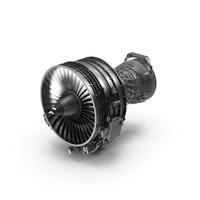 Turbofan Aircraft Engine CFM International CFM56 PNG & PSD Images