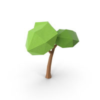 Polygonal Tree PNG & PSD Images