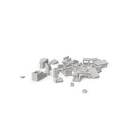 Cinder Blocks Broken PNG & PSD Images