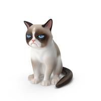 Grumpy Cat PNG & PSD Images