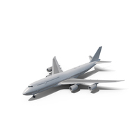 Boeing 747-8I PNG & PSD Images