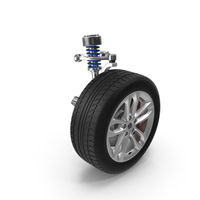 Wheel and Suspension PNG & PSD Images