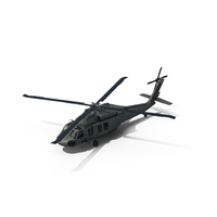 EH-60 Black Hawk Helicopter PNG & PSD Images