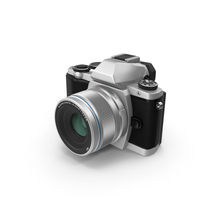 Olympus OM-D-E-M10 Silver PNG & PSD Images