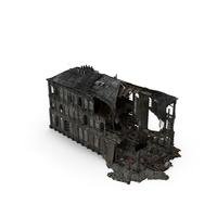 Burned Building PNG & PSD Images
