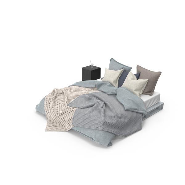 Pallet Bed Set PNG & PSD Images