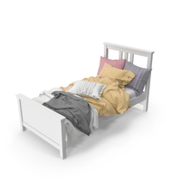 Twin Bed PNG & PSD Images