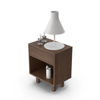 End Table Set PNG & PSD Images