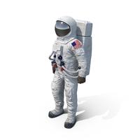 Astronaut NASA Spacesuit A7L PNG & PSD Images