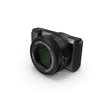 Sony Alpha 5100 Black PNG & PSD Images