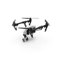 DJI Inspire 1 Quadcopter PNG & PSD Images