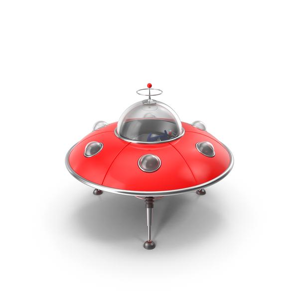 UFO Toy Object