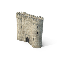 Gatehouse with Portcullis PNG & PSD Images