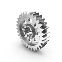 Silver Gear PNG & PSD Images