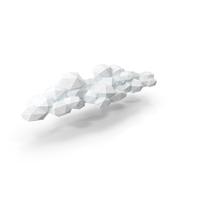 Low Poly Cloud PNG & PSD Images
