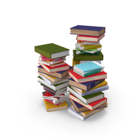 Stacks of Books PNG & PSD Images