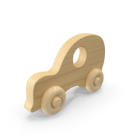 Wooden Car Toy PNG & PSD Images