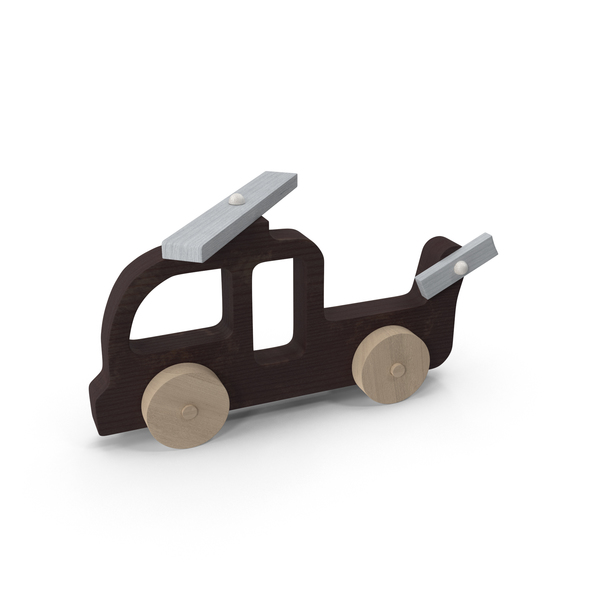 Baby Wooden Helicopter Car PNG & PSD Images