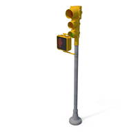 Stop Light  Don't Walk with Green Light PNG & PSD Images