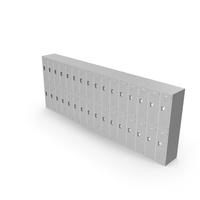 Half Lockers Gray PNG & PSD Images