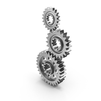 Three Gears PNG & PSD Images