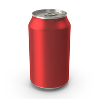 Generic Red Can 355ml PNG & PSD Images