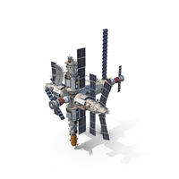 Mir Space Station PNG & PSD Images