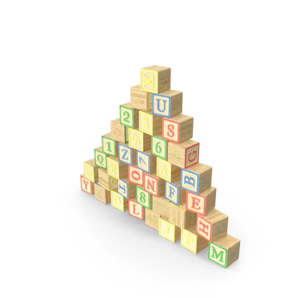 Alphabet Blocks Object