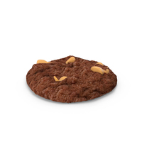 Peanut Butter Chocolate Cookie PNG & PSD Images