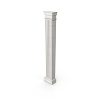 Greco-Roman Doric Pilaster PNG & PSD Images