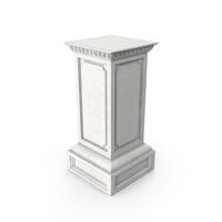 Greco-Roman Column Base PNG & PSD Images