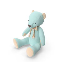 Blue Teddy Bear PNG & PSD Images