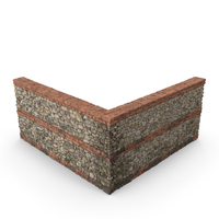 Greco-Roman Wall Section PNG & PSD Images