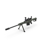 Barrett M107 PNG & PSD Images