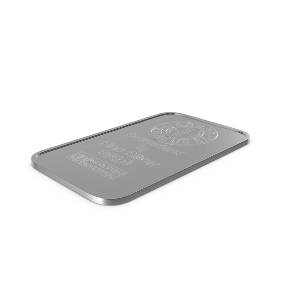 Silver Bar 1g PNG & PSD Images