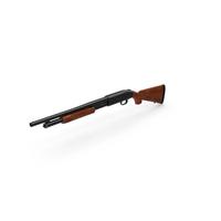 Shotgun Mossberg 500 Wooden PNG & PSD Images
