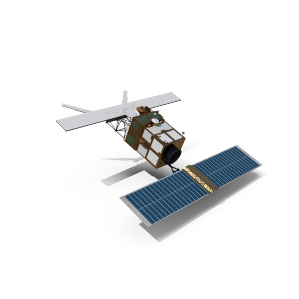 European Remote Sensing Satellite ERS-2 PNG & PSD Images