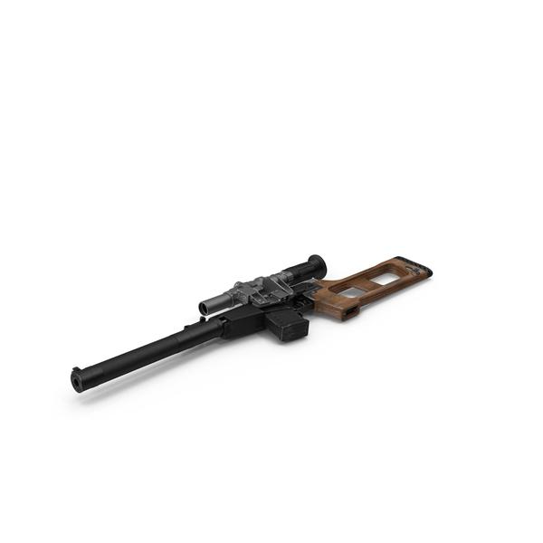 Sniper Rifle VSS Vintorez Object