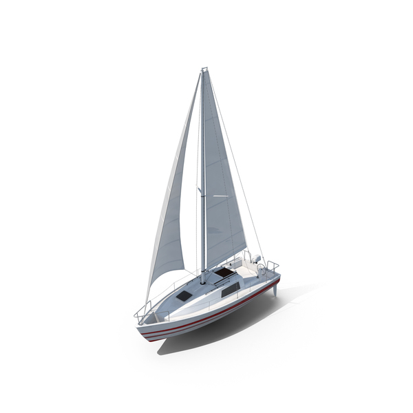 Small Sailing Yacht PNG & PSD Images